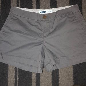 Gray old navy shorts